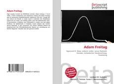 Buchcover von Adam Freitag