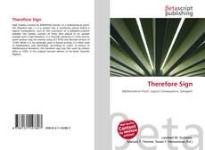 Couverture de Therefore Sign