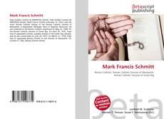 Mark Francis Schmitt kitap kapağı