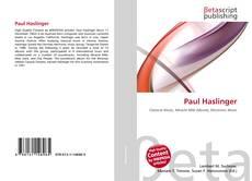 Buchcover von Paul Haslinger