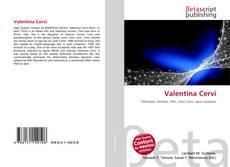 Capa do livro de Valentina Cervi