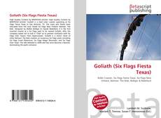 Capa do livro de Goliath (Six Flags Fiesta Texas)