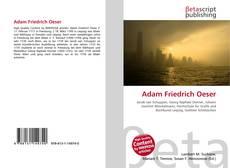 Обложка Adam Friedrich Oeser