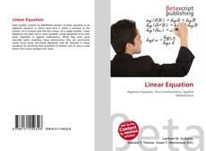 Bookcover of Linear Equation