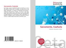 Bookcover of Sacramento, Coahuila