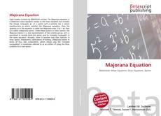 Majorana Equation的封面