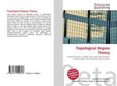 Обложка Topological Degree Theory