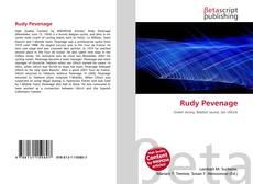 Portada del libro de Rudy Pevenage