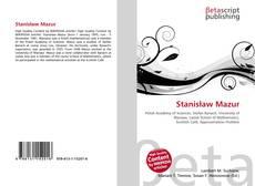 Bookcover of Stanisław Mazur