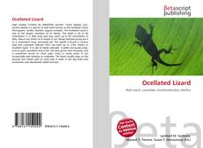 Capa do livro de Ocellated Lizard