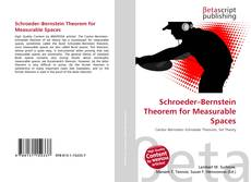 Bookcover of Schroeder–Bernstein Theorem for Measurable Spaces
