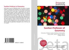 Bookcover of Savilian Professor of Geometry