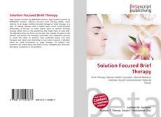 Buchcover von Solution Focused Brief Therapy