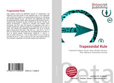 Bookcover of Trapezoidal Rule