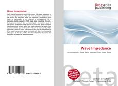 Bookcover of Wave Impedance
