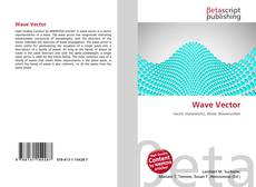 Bookcover of Wave Vector