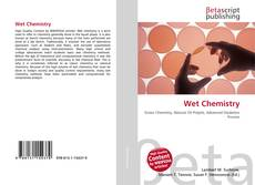 Bookcover of Wet Chemistry
