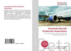 Buchcover von Voronezh Aircraft Production Association