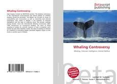Buchcover von Whaling Controversy