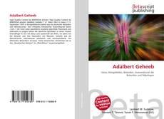 Borítókép a  Adalbert Geheeb - hoz