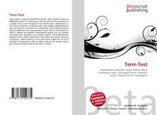 Bookcover of Term Test