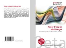 Radar Doppler Multitarget kitap kapağı