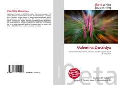 Capa do livro de Valentina Qussisiya