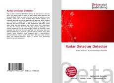 Buchcover von Radar Detector Detector