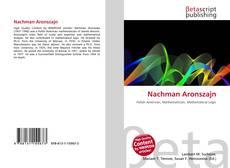 Bookcover of Nachman Aronszajn