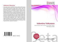 Capa do livro de Valentina Tolkunova