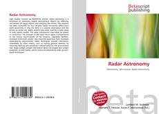 Bookcover of Radar Astronomy