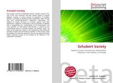 Borítókép a  Schubert Variety - hoz