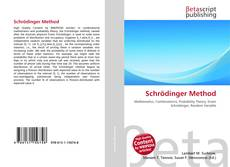 Bookcover of Schrödinger Method