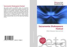 Capa do livro de Sacramento Shakespeare Festival