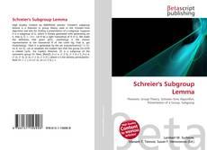 Bookcover of Schreier's Subgroup Lemma
