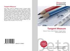 Bookcover of Tangent Measure