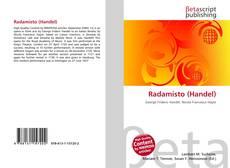 Capa do livro de Radamisto (Handel)