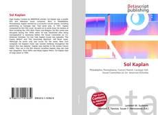 Capa do livro de Sol Kaplan