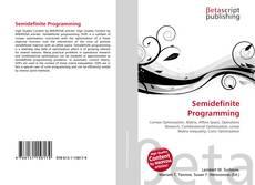 Borítókép a  Semidefinite Programming - hoz