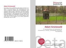 Portada del libro de Adam Grünewald
