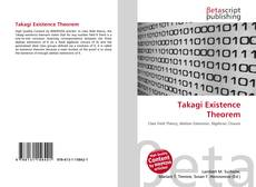 Bookcover of Takagi Existence Theorem