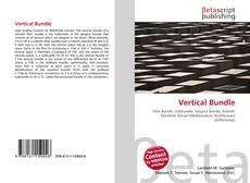 Capa do livro de Vertical Bundle