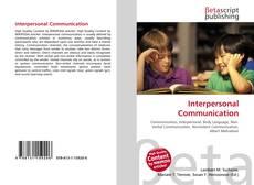 Couverture de Interpersonal Communication