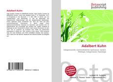 Обложка Adalbert Kuhn