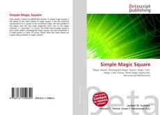 Bookcover of Simple Magic Square