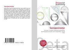 Bookcover of Semiperimeter