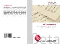 Portada del libro de Adalbert Meier