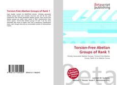 Couverture de Torsion-Free Abelian Groups of Rank 1