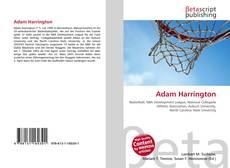 Portada del libro de Adam Harrington