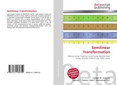 Portada del libro de Semilinear Transformation
